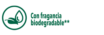 Con fragancia biodegradable**
